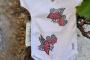 Mahcabra-body bebé-moscas-rosas