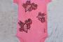 Mahcabra-body bebé rosa-moscas