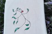 Mahcabra-bolsa tela-hoja-voladora