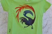 Mahcabra-camiseta-bebé-verde-tucán-stancil